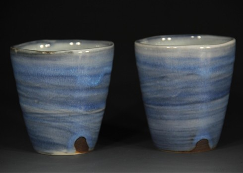Set of 2 cups $50